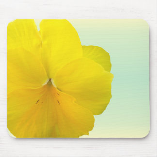 Mouse Pad - Pencilled Yellow Pansy