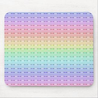 Mouse Pad - Rainbow Stitching
