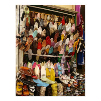 Mouse Pad - Shoe Seller Tangier Kasbah Postcards