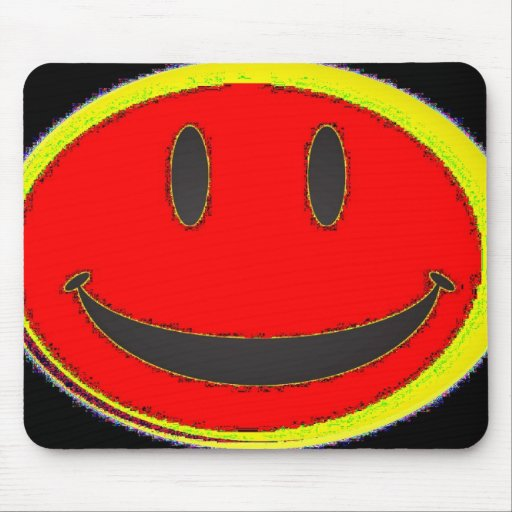 Mouse pad -'Smiley Face'