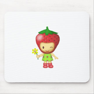 Mouse Pad - Strawberry