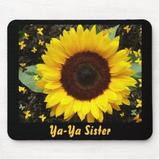 Mouse Pad, Sunflower, Ya-Ya Sister Mouse Mat