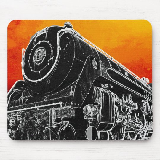 MOUSE PAD - Sunset Train