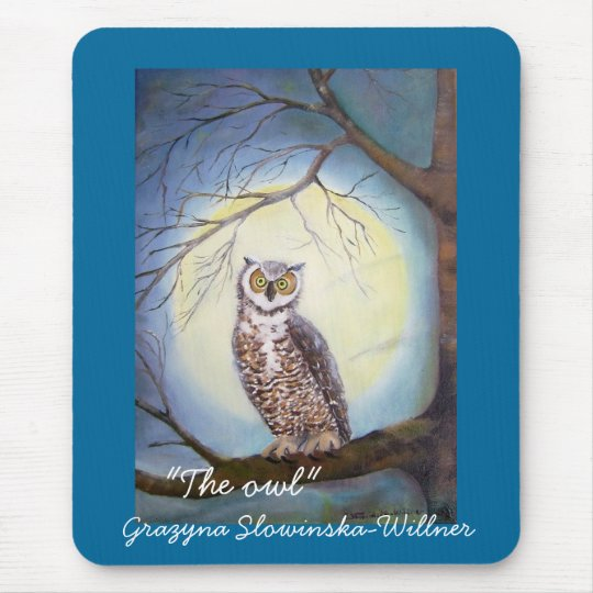 """Mouse PAD """"the owl """""""
