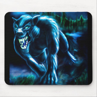 Mouse PAD werewolf