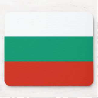 Mouse pad with Flag of Bulgaria