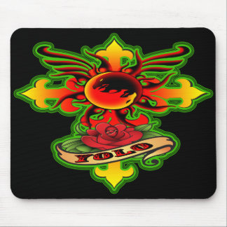 Mouse Pad/ Ying Yang Yolo Mouse Pad