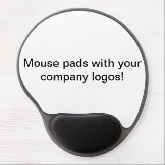 Mouse Pads with Your Logos? Yep! Gel Mouse Pad