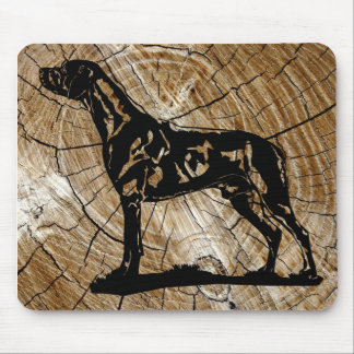 Mouse path Rhodesian Ridgeback Wood Mouse Mat