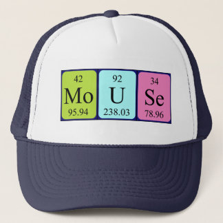 Mouse periodic table name hat
