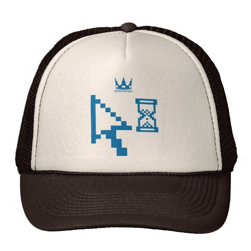 Mouse pointer (blue) hat
