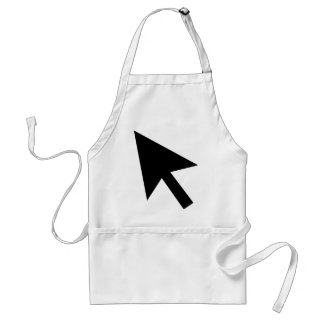 Mouse Pointer Standard Apron