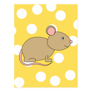 Mouse. Postcard