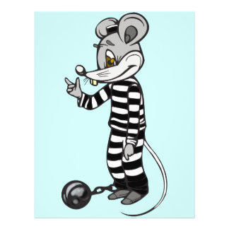 Mouse Prisoner 21.5 Cm X 28 Cm Flyer