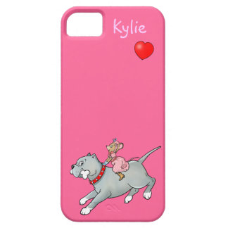 Mouse Riding on Dog  -  Case-mate iPhone 5