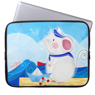 Mouse Sailor laptop sleeves