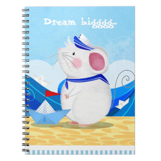 Mouse Sailor notebook