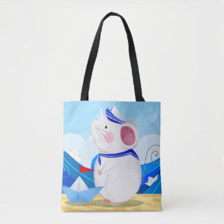 Mouse Sailor tote bag