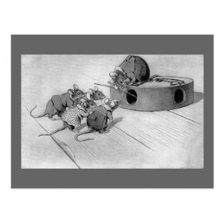 Mouse Seeks to Disable Mousetrap Postcard