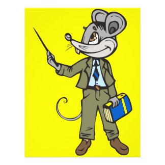 Mouse Teacher 21.5 Cm X 28 Cm Flyer