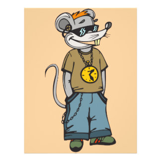 Mouse Teenager 21.5 Cm X 28 Cm Flyer