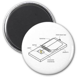 mouse trap 6 cm round magnet
