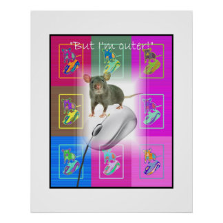 Mouse versus Mouse Poster