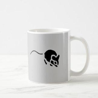 Mouse Vintage Wood Engraving Coffee Mug