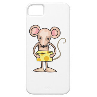MOUSE WITH CHEESE iPhone 5 CASES