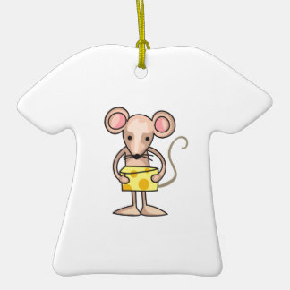 MOUSE WITH CHEESE CERAMIC T-Shirt DECORATION
