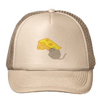 Mouse with Cheese Hat