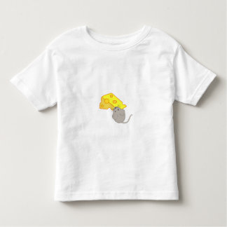 Mouse with Cheese Toddler T-Shirt
