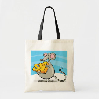 Mouse With Cheese Tote Bag
