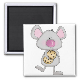 Mouse with Cookies Tshirts and Gifts Magnet