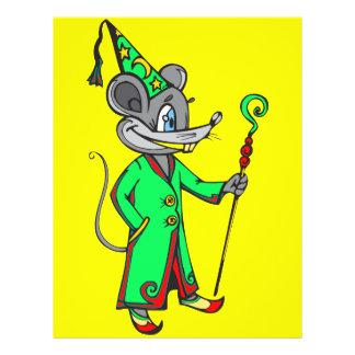 Mouse Wizard 21.5 Cm X 28 Cm Flyer