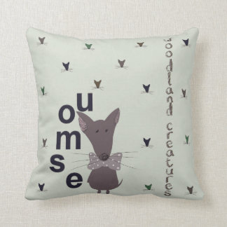 Mouse Woodland Creature Cushion