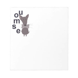 Mouse Woodland Creature Notepads