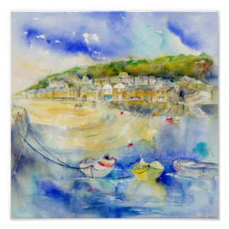 Mousehole Cat Poster