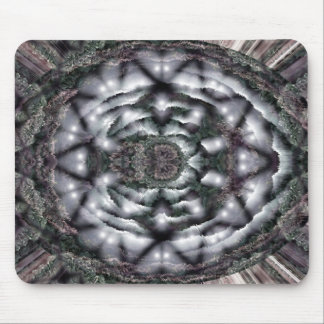 Mousemat Dark Greys Blacks Abstract Design Mouse Pad