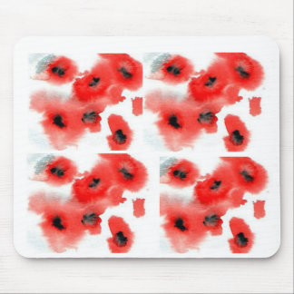 mousemat - poppies