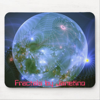 Mousepad2, Fractals by Janetino Mouse Mat