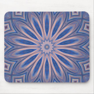 Mousepad Abstract Blue Pink Kscope Customize It