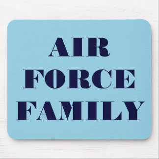 Mousepad Air Force Familiy