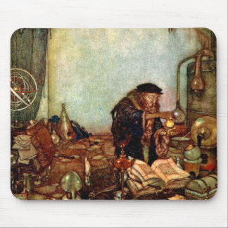 Mousepad:  Alchemist and His Gold by Edmund Dulac