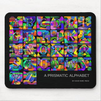 Mousepad Alphabet
