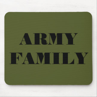Mousepad Army Family
