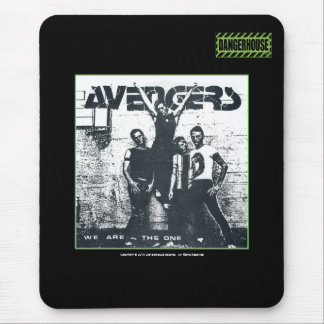 Mousepad Avengers We Are The One Dangerhouse BLACK