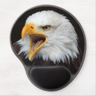 Mousepad bald eagle/photo Jean Louis Glineur Gel Mouse Mat