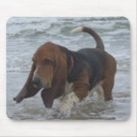 Mousepad Basset Hound By The Sea