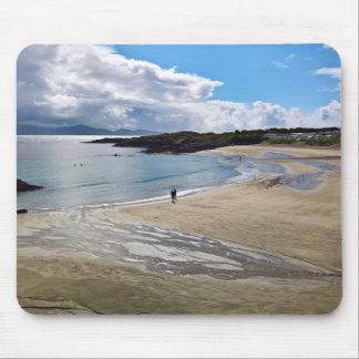 Mousepad: Beautiful beach with blue sky ; Ireland Mouse Mat
